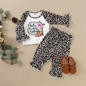 Other - Babygirl + Toddler Boutique Ruffle Fall Days Set